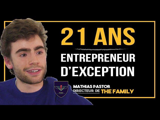 Mathias Pastor, 21 ans, conseiller de dizaines de STARTUPS ! Quel est son SECRET ?
