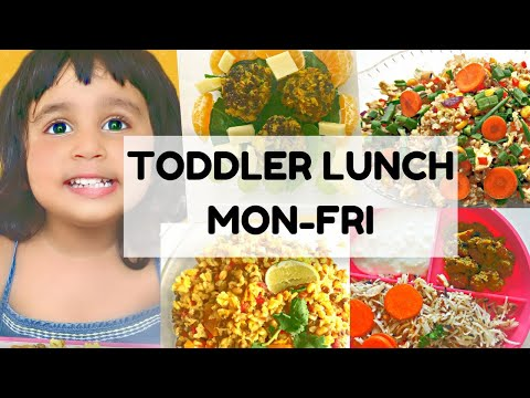5 LUNCH IDEAS FOR INDIAN KIDS | TODDLER LUNCH RECIPES | INDIAN LUNCH RECIPES