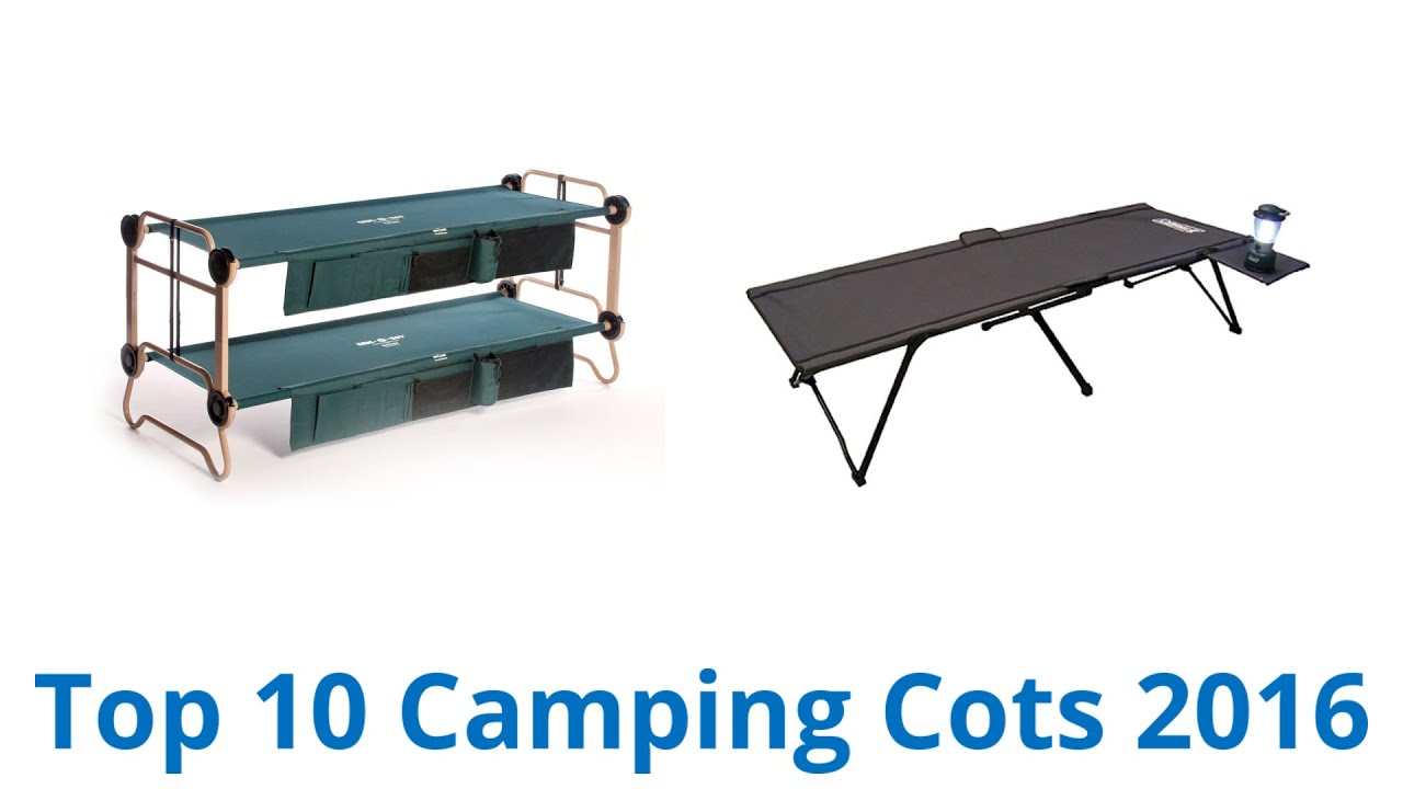 10 Best Camping Cots 2016 - YouTube
