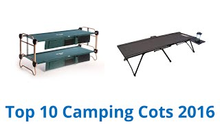 10 Best Camping Cots 2016