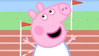 Свинка Пеппа на русском все серии подряд | Соревнование | Мультики