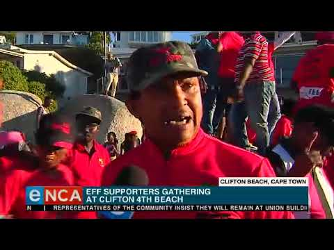 The EFF is at Clifton Beach tonight