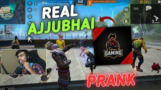 Real Ajjubhai 🔥 Prank with Random 3 Girls😂 || Best Funny Video Must Watch😂!!!!!