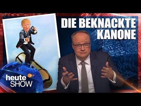 Waffengesetz: Donald Trump verspricht Änderungen   heute-show vom 02.03.2018