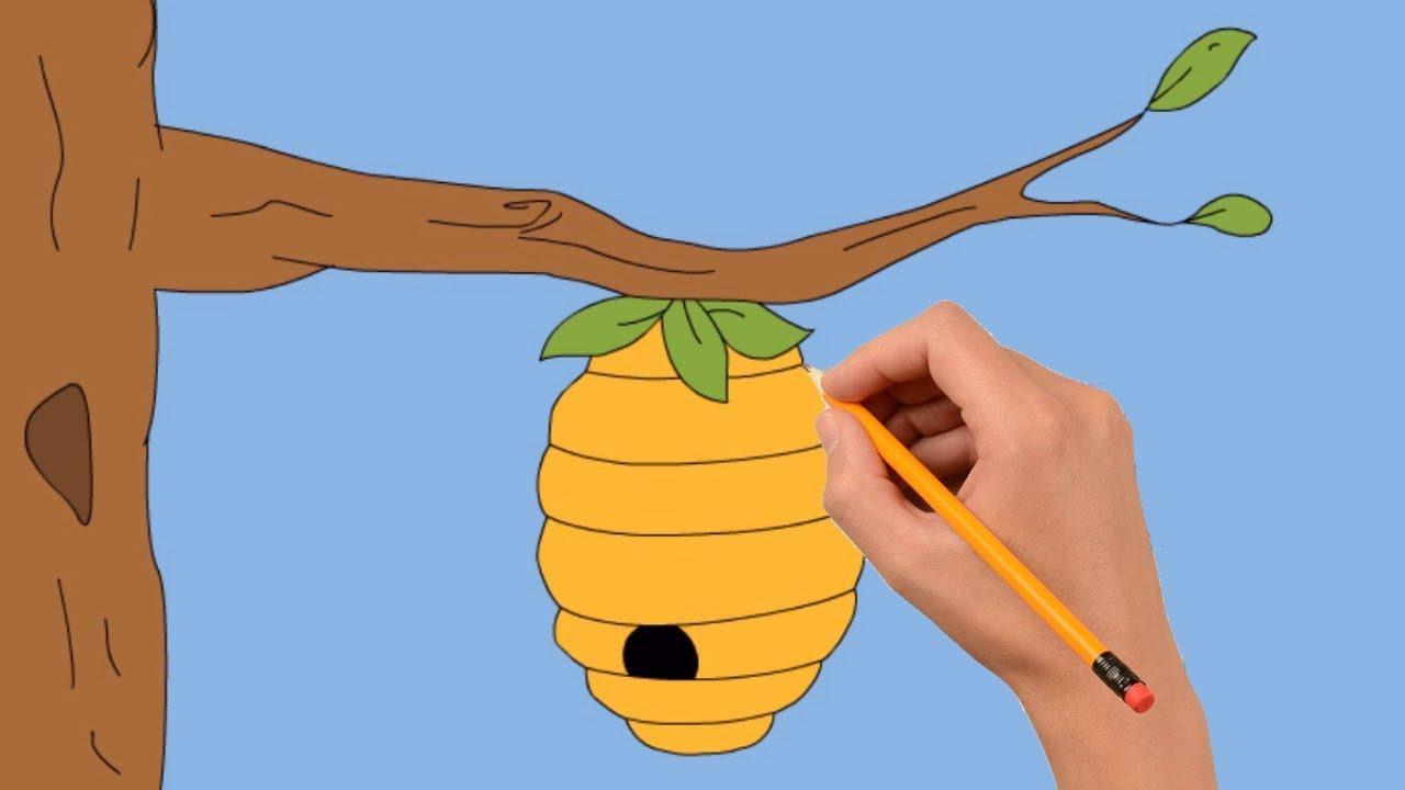 Honey Bee Drawing at GetDrawings   Free download   Beehive Hairstyle Drawing