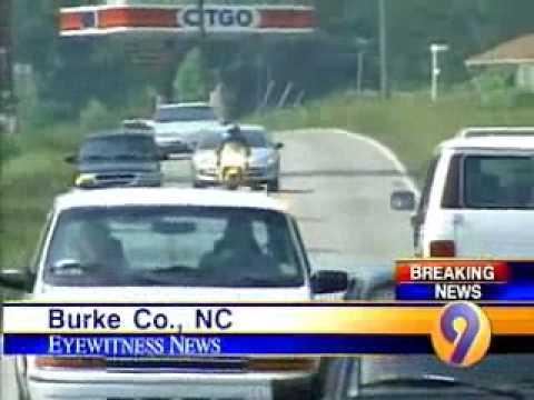 Catawba County NC Motorcycle Chase