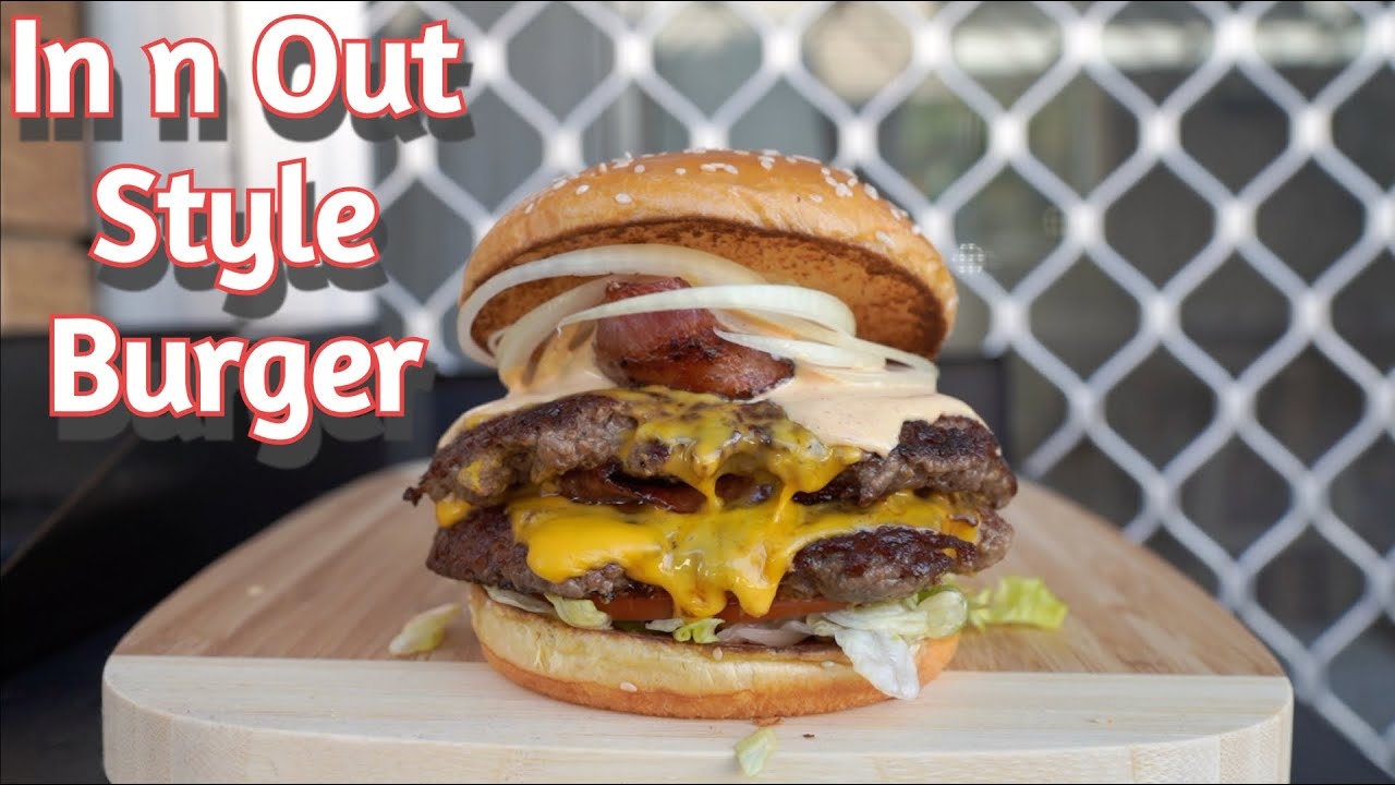 Food Coma Feeds: The ULTIMATE In n Out Style Homemade Burger with Special Sauce!