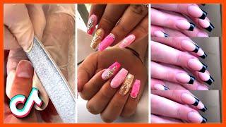 Amazing Nails Transformation Acrylic Nail Art Designs TikTok Compilation