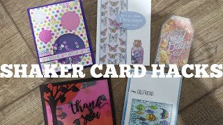 Shaker Card Hacks!