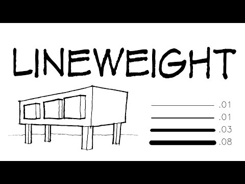 Lineweight - Architecture Daily Sketches