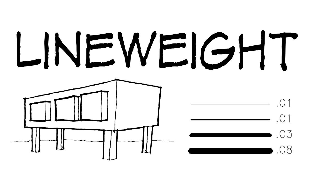 Lineweight Architecture Daily Sketches Youtube