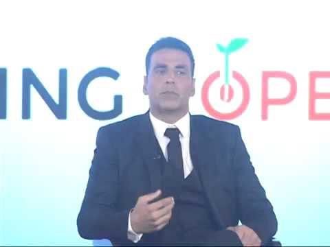 Akshay Kumar at Cultivating Hope Campaign Conference at JW Marriot Hotel in Mumbai Yesterday !