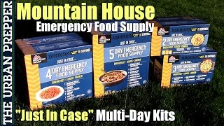 "Mountain House: ""Just in Case"" Emergency Multi-Day Kits"