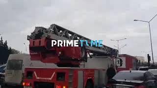"""""""EuroHome"""" bazarındakı yanğından YENİ GÖRÜNTÜLƏR"""