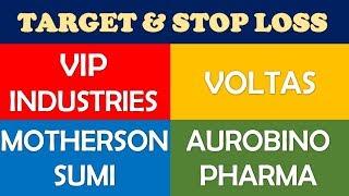 Vip Industries Voltas Motherson Sumi Aurobindo Pharma | multibagger stocks 2019 India for long term