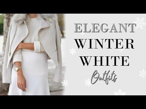 ELEGANT Ways to Wear WHITE This Winter | Fashion Over 40