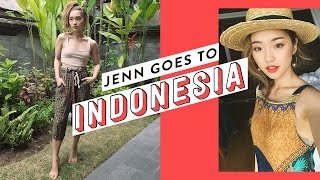 Gambar cover Jenn Goes To Indonesia | clothesencounters