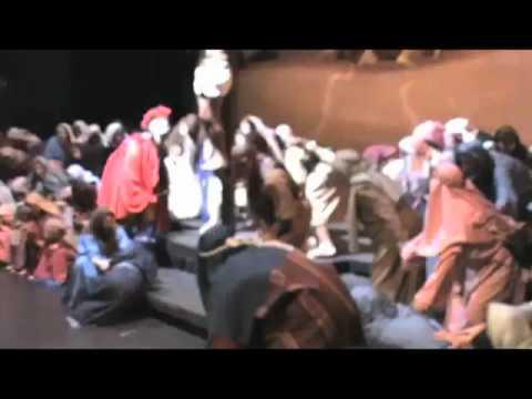Durham Christmas Pageant 2009 Crucifixion Scene Remix
