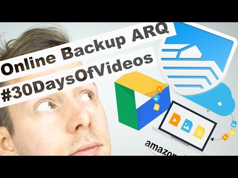 Ultimate Cloud Backup Solution with Arq and Amazon Cloud Drive #30DaysOfVideos
