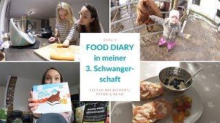 Food Diary in meiner 3. Schwangerschaft | Familienalltag mit Kindern, Pferd & Hund | VLOG5