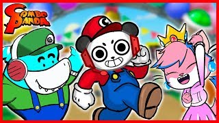 SUPER MARIO PARTY Review ! Let's Play with Combo, Big Gil, & Alpha Lexa