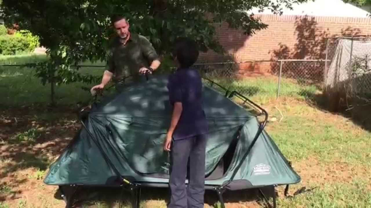 sc 1 st  YouTube & Kamp-Rite Double Tent Cot Setup - YouTube