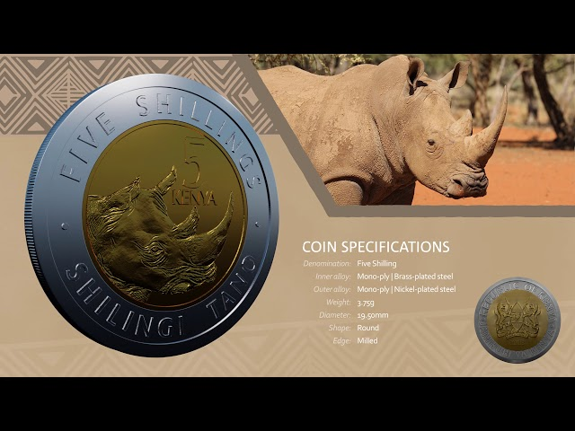 Kenya New Generation Currency Coin