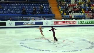 Tatiana VOLOSOZHAR / Maxim TRANKOV. SP. ISU World FSC 2011