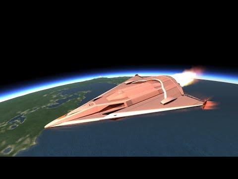 KSP space shuttle Development