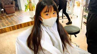 【こなつ⭐︎7歳】ヘアドネーション‼︎    बालों का दान‼︎   Hair donation⭐︎