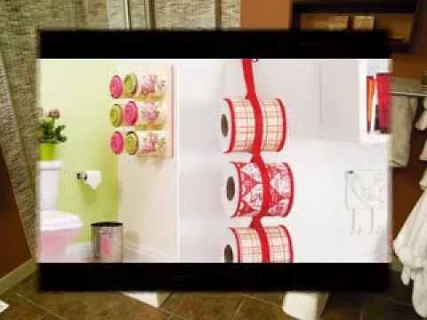 Easy DIY bathroom decor ideas - YouTube - bathroom decorating ideas diy
