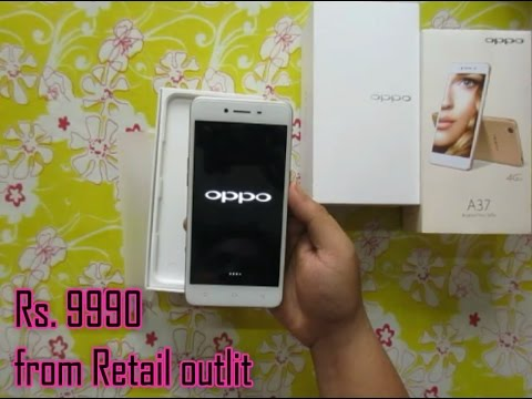 oppo A37 | unboxing | review | best camera phone | price Rs.9990