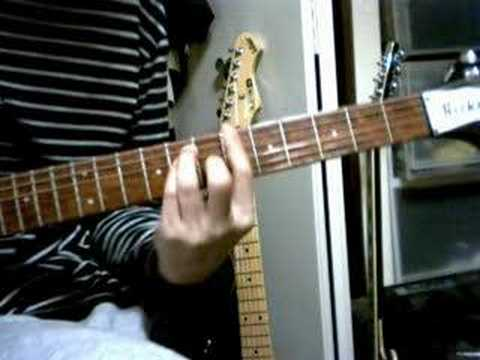 Guitar Chord Demo The Actionill Keep Holding On Youtube