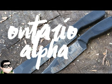 Let's Review It Together Ontario Spec Plus Alpha Knives + Giveaway!!