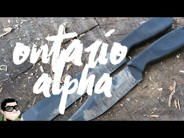 Lets Review It Together Ontario Spec Plus Alpha Knives + Giveaway!!