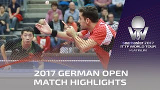 2017 German Open Highlights:  Xu Xin vs Marcos Freitas (R16)