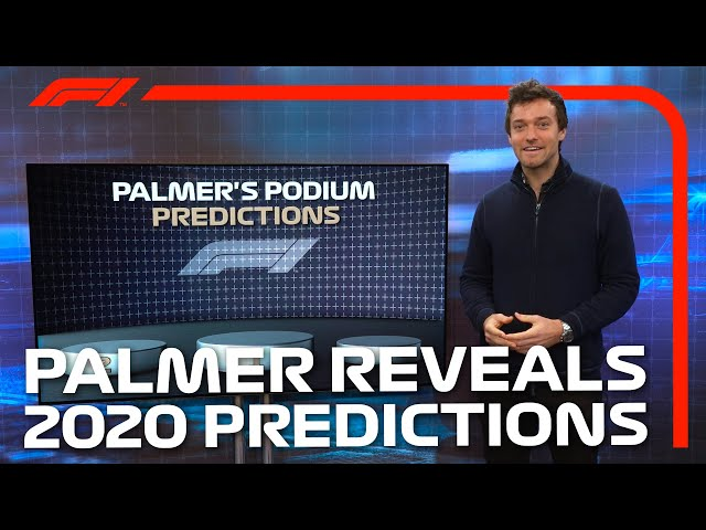 Jolyon Palmer Reveals His 2020 Pre-Season Predictions