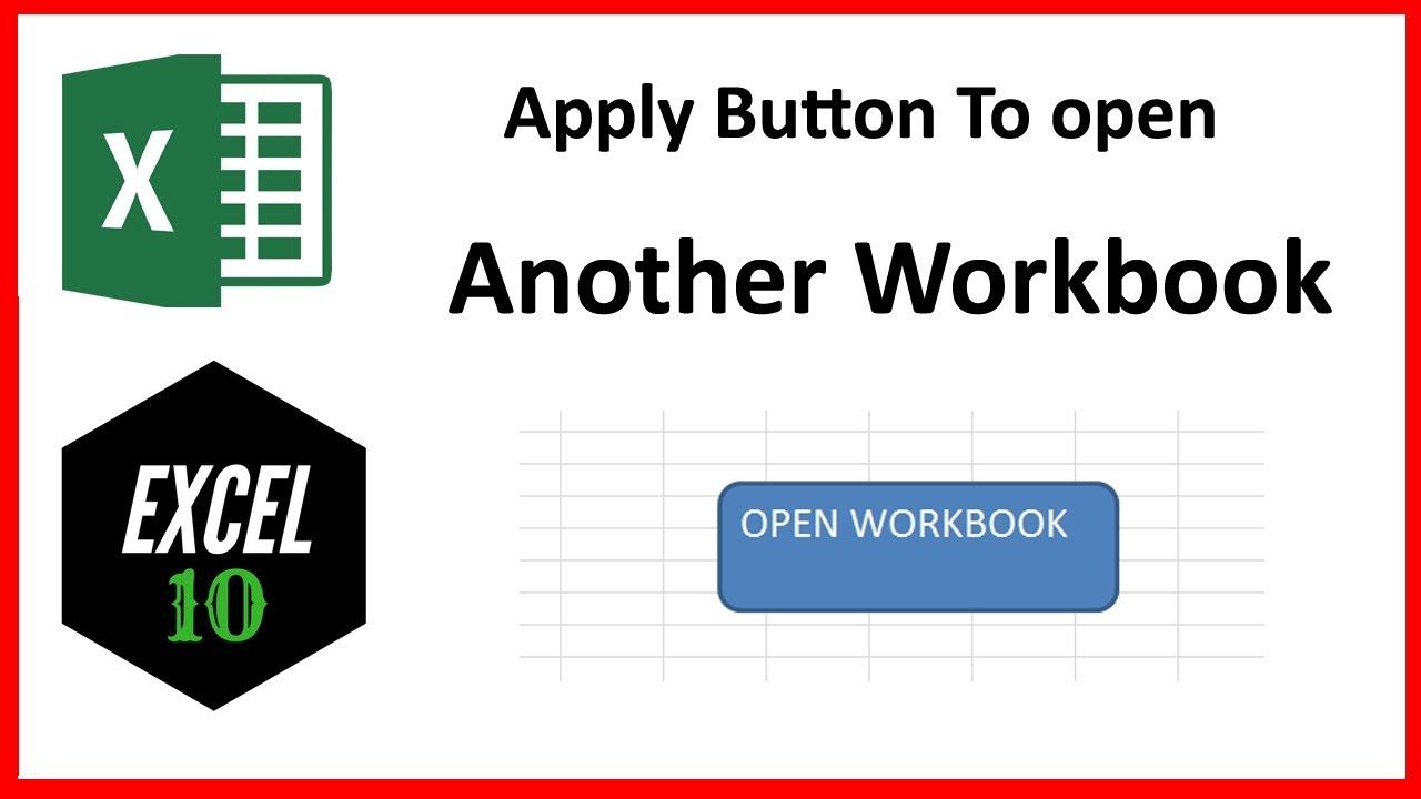 Workbooks unhide personal workbook : How To Apply A Button To Open Another Workbook In Excel - YouTube