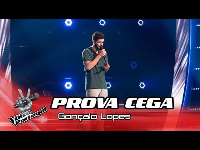 "Gonçalo Lopes - ""Hallelujah"" | Prova Cega | The Voice Portugal"