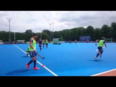 Training Nederlands Elftal Hockey Heren Upward 11 juli