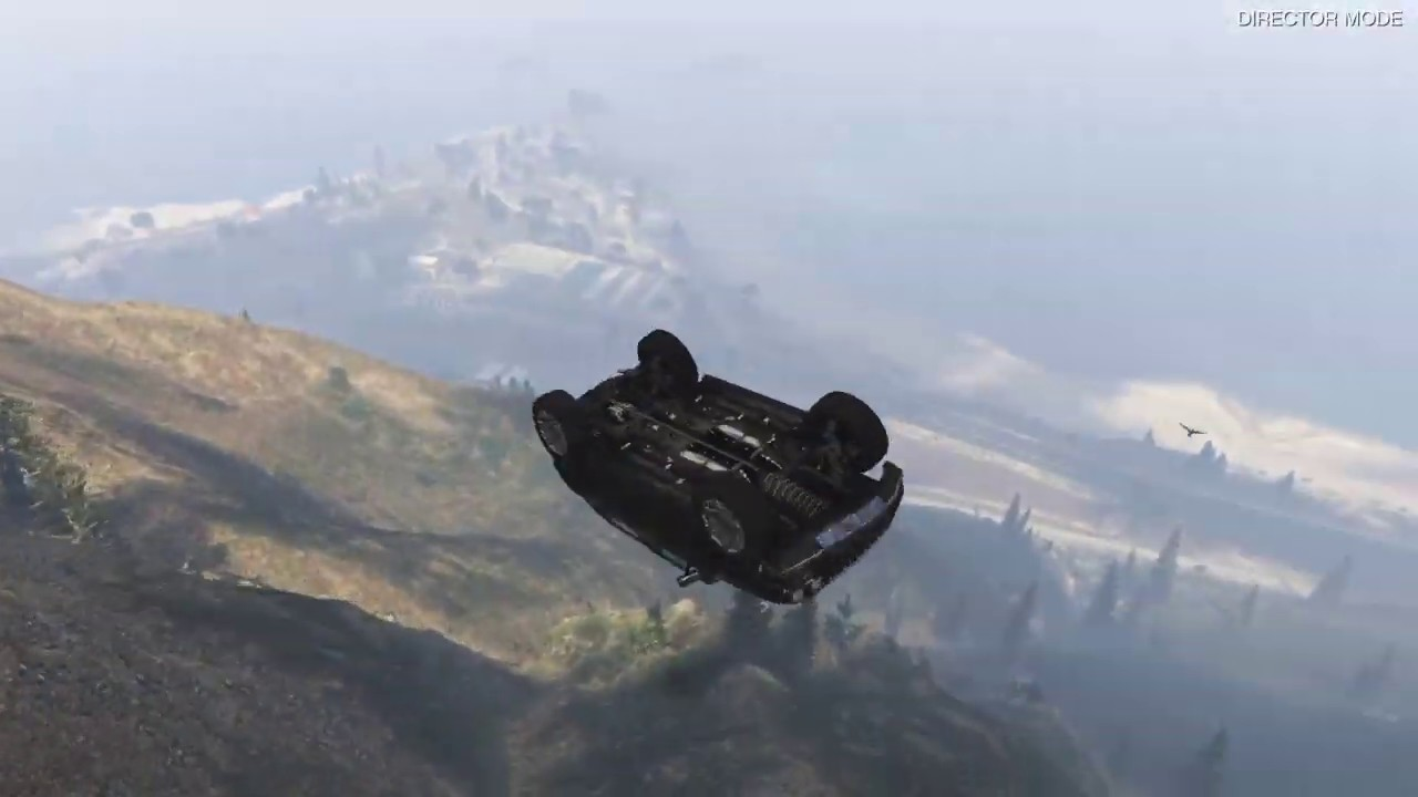 Grand Theft Auto 5 - Driving More Japanese Cars Off Mt ...