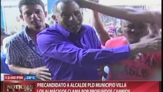 Precandidato a alcalde PLD del municipio Villa los Almácigos clama por profundos cambios
