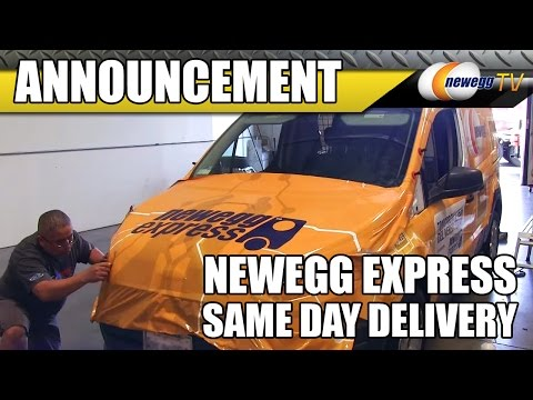 Newegg Launches Same-day Delivery Service - Newegg Express