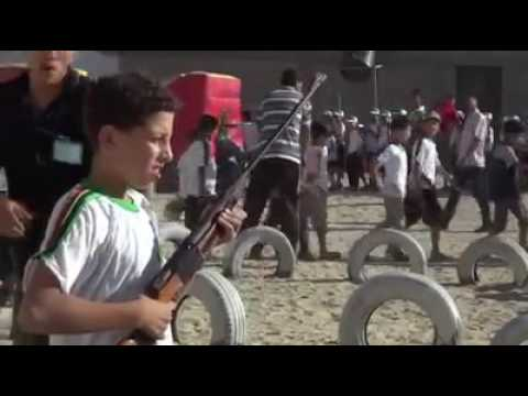 Gaza kids summer camp