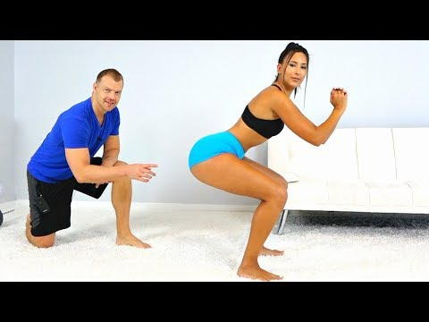 How to Do Squats Correctly to Get a Bigger Butt!