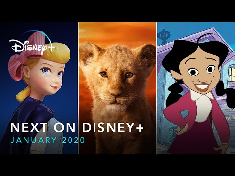 Visa On The Radio - VIDEO: Here's Whats NEW For January on Disney+!