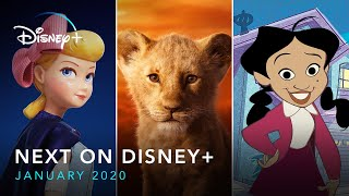 Next On Disney+ | January 2020