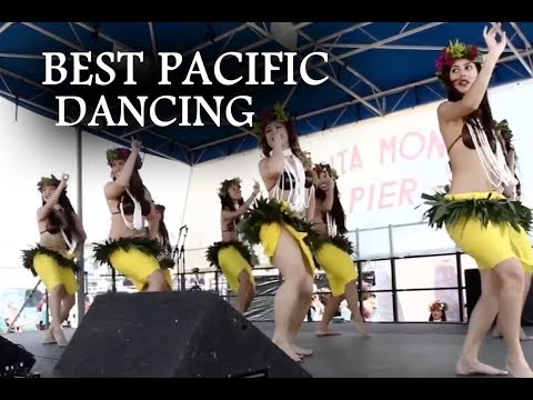 Awesome Crew dance with the best pacific music.