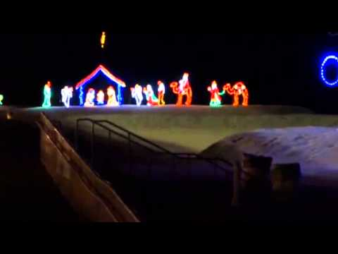 virginia beach boardwalk christmas lights youtube - Christmas Lights Virginia Beach