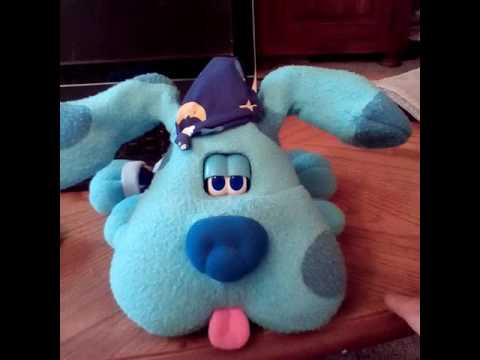Blues clues bedtime toy - YouTube